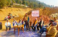 मकवानपुरगढीमा १५ शैयाकाे अस्पताल निर्माणार्थ शिलान्यास