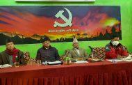 नेकपा प्रचण्ड–माधव पक्षकाे बैठकः एमाले र माओवादी अलग भएर जाने