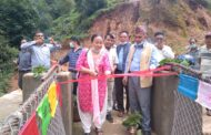 मकवानपुरगढीकाे इच्चुङ र वखरडाँडा जोड्ने झोलुङ्गे पुल उद्घाटन्