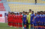 मैत्रीपूर्ण फुटबल खेलमा नेपाल पराजित